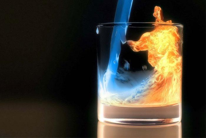 მინის ცეცხლის წინააღმდეგობის ტესტები